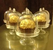 Mini Cupcake Holder with Dome- Pack of 12