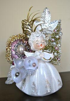 Christmas Angel Planter