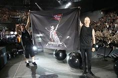 Metallica Valle Hovin Oslo Norway