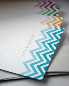 Personalized Stationery with my name :)  just something cute
