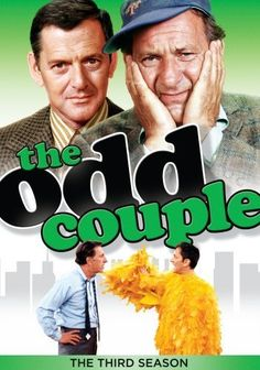 The Odd Couple. Tony Randall & Jack Klugman. 1970-1975.