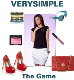 """VERYSIMPLE The Game"" by verysimple-style on Polyvore"