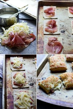 What happens when you turn a croque monsieur sandwich into a pastry?