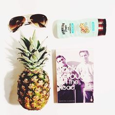 Prepping for tomorrow's photo shoot.  Can you guess the theme..? #travel #essentials #pineapple #ontheroad #raybans #fwis #exotic #styling #fashion #style #instafashion #instastyle