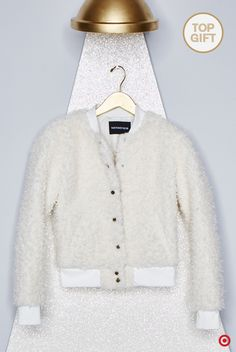 The gift all trendsetters want this Christmas  This teddy bear bomber  jacket from Who What 33e8a67cda