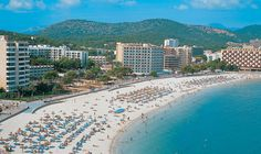 Palma Nova, Spain ! This is where I go every year!!!