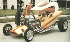 I like this. looks like a classic of the 60's a real hippies Hot Rod