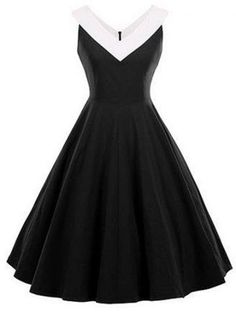 GET $50 NOW | Join RoseGal: Get YOUR $50 NOW!http://m.rosegal.com/vintage-dresses/fit-and-flare-vintage-sleeveless-907312.html?seid=2n2nviva7gvt1dflmagigk0130rg907312