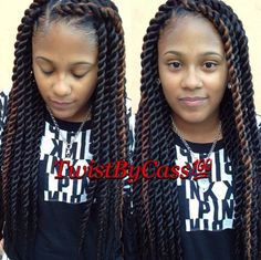 Medium Big Twists Shared By @Twistbycass - http://community.blackhairinformation.com/hairstyle-gallery/braids-twists/medium-big-twists-shared-twistbycass/ #braidsandtwists