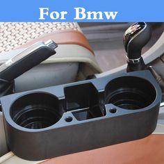 Car Seat Seam Wedge Cup Box Holder Organizer Car Styling For Bmw E36 E46 E60 E70 E40 E90 F30 F10 1 3 5 7 Series #Affiliate