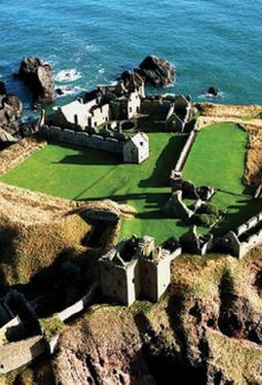 Dunnottar Castle, Scotland ~ Visit Dunnottar Castle for an unforgettable experience. A dramatic and evocative ruined cliff top fortress in a truly stunning setting.