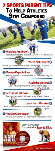 Does your athlete have a hard time letting go of mistakes or keeping composed during competitions? Improve your athlete's game now by purchasing The Composed Sports Kid Workbook and CD program here: http://www.peaksports.com/the-composed-sports-kids-cd/