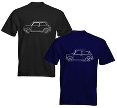 Velocitee Mens Premium T-Shirt Ford Mustang 1969 Mach 1 Blueprint Outline Nissan Skyline R33, Skyline R34, Escort Mk1, Ford Escort, Corvette Stingray 1969, Ford Mustang 1969, Range Rover Car, Black Cab, Outline Designs