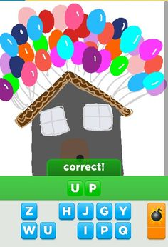 Draw something app... soo much fun totally worth the download!   Up i loved that movie! So awesome and touching