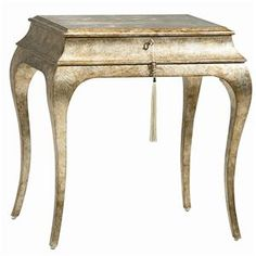 """Shop for the Caracole Caracole Classic """"Oh, Henry"""" Side Table at Jacksonville Furniture Mart - Your Jacksonville, Gainesville, Palm Coast, Fernandina Beach Furniture & Mattress Store Wood End Tables, End Tables With Storage, Side Tables, Muebles Caracole, Silver Side Table, South Shore Decorating, Inexpensive Furniture, Furniture Ideas, Furniture Online"""