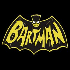 Bartman T-Shirt $12.99 Bart Simpson tee at Pop Up Tee!