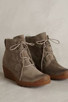 Anthropologie Sorel Toronto Lace Booties on shopstyle.com