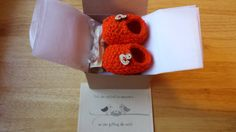 Baby Booties Pregnancy Announcement Baby by Mittenandtheyarn