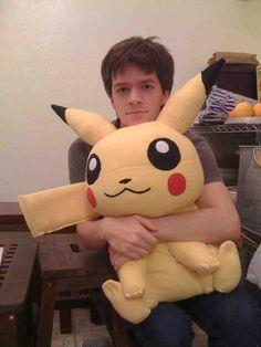 Molde: Pikachu sentado - Pokémon #025