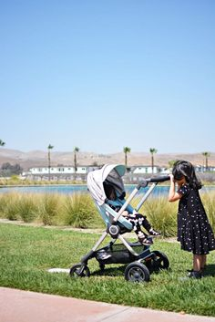 Stokke Stroller Review via The Little Inspiration blog