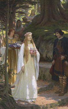 """""""My Fair Lady"""" by Edward Blair Leighton"""