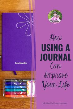 Keeping a daily journal is an excellent way to focus on gratitude, get organized, and set goals. Take a look at this post for great product choices, inspiring journaling ideas, and grab a FREE printable month-long journaling challenge! Weekly Planner, Life Planner, Clear Your Mind, Planner Layout, Daily Journal, Cool Writing, Day Plan, Positive And Negative, Teaching Strategies