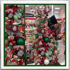 My christmas floral designs michaels on pinterest for Christmas trees at michaels craft store