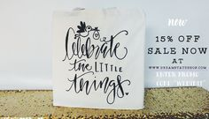 """Get your bridal and baby shower gift bags/favors now! 15% off sale going on @ www.dreamstateshop.com Enter promo code: """"WEDIDIT"""""""