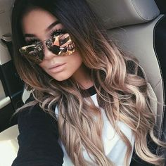 Looking for trending ombre hair color ideas? Find different awesome colors to try and tips to maintain your beautiful ombre hairstyles. Hair 20 Trending Ombre Hair Color Ideas to Try (WITH PICTURES) Balayage Hair, Dark Roots Blonde Hair Balayage, Haircolor, Brown To Blonde Ombre Hair, Ombre Hair Color For Brunettes, Long Ombre Hair, Brown Ambre Hair, Brown Balayage, Ombre Hair Brunette