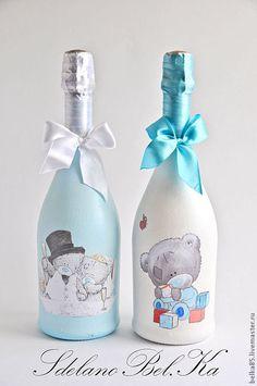 """Купить Набор """"Свадебные Мишки Тедди"""" - мишки тедди, свадьба, свадебные аксессуары, аксессуары для свадьбы"""