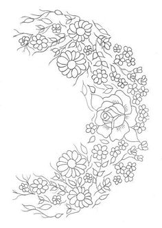 Silk Ribbon For Embroidery 5 Yards- Embroidery Design Guide Embroidery Neck Designs, Embroidery Transfers, Silk Ribbon Embroidery, Hand Embroidery Patterns, Cross Stitch Embroidery, Machine Embroidery, Mexican Embroidery, Vintage Embroidery, Painting Patterns