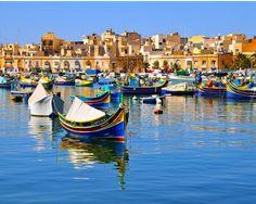 Marsaxlokk fishing village, #Malta │ #VisitMalta visitmalta.com