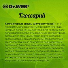 Глоссарий Dr.Web: компьютерные вирусы. #DrWeb