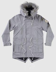 Eskomi Parka Jacket, Drop Dead Clothing
