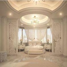 Dream Bedroom Design Ideas For Luxury House Dream Rooms, Dream Bedroom, Home Bedroom, Royal Bedroom, Bedroom Decor, Bedroom Ideas, Fancy Bedroom, Rich Girl Bedroom, Mansion Bedroom