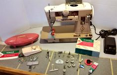 Everybody loves lots of goodies to go with their new old sewing machine.