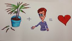 A message to a dying ikea houseplant, telling it why it needs to keep living! from Aubreys/642