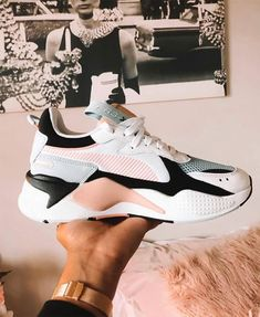 55 Best Sneakers Shoes you should own, shoes Sneaker Puma RS-X Reinven. - 55 Best Sneakers Shoes you should own, shoes Sneaker Puma RS-X Reinvention Shoes Moda Sneakers, Best Sneakers, Black And White Trainers, Black And White Sneakers, Sneakers Adidas, Casual Sneakers, Sneakers Fashion Outfits, Fashion Shoes, Jeans Fashion