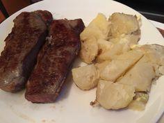 Bake potato steak!