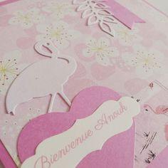 Ce n'est pas parce que Noël approche qu on oublie les autres événements !  Carte réalisée sur-mesure pour une adoption   #surmesure #carterie #stationery #rose #pink #danslatelierderosedebiboun #danslatelier #flamant #flamantrose #flamingo #pinkflamingo #papercut #flowers #decoupe #paper #papier #fleurs by rosedebiboun