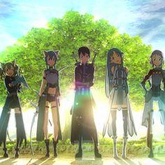 [Sword Art Online ll] - Pic by: @_animechannel_ - Characters: Silica Sinon Kirito Asuna and Lizbeth . Comment and like . Tag your friends!! ___________________________________________ Tags:#sao #swordartonline #swordartonline2 #sinonasada #kazutokirigaya #asunayuuki #yuukikonno #kiritoxasuna #animepic #animeuniverse #otakugirl #cosplay #animecouple #animecosplay #animeedit #animelogo #animeboy #animegirl #animeboys #animegirls #animexmanga #kawaiianime #kawaiidesu #kawaiigirl #kawaii…