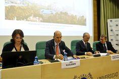 El alcalde, Francisco de la Torre, participa en la inauguración de la II 'Conferencia Internacional sobre Terrorismo y Delincuencia Organizada'.