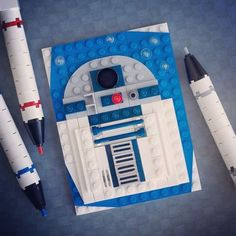 Chris McVeigh / Powerpig - R2D2 en Brick Sketch