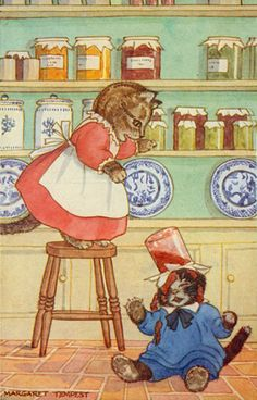 Margaret Tempest.  I loved my Little Grey Rabbit books as a child (and still do!) but I also loved all my other picture books illustrated by this clever lady x