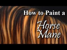 Oil painting Tips Ideas - Oil painting Animals Fun - - Oil painting For Beginners Food - - Oil painting Nature Videos Horse Oil Painting, Oil Painting For Beginners, Acrylic Painting Lessons, Oil Painting Flowers, Hair Painting, Oil Painting Abstract, Painting Clouds, Watercolor Artists, Painting Tutorials