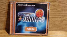 OPERACIÓN TRIUNFO / SALSA. CD / VALE MUSIC - 7 TEMAS / CALIDAD LUJO.