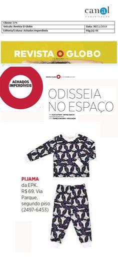 EPK na Revista O Globo!