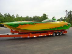 MTI Boats | New 2004 42 MTI R/P: SOLD