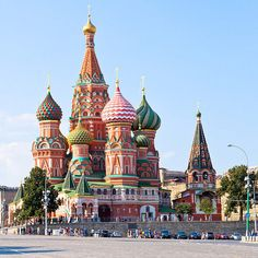 |Saint Basil's Cathedral, Russia|
