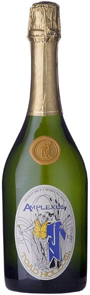 Toad Hollow Amplexus French Sparkling Wine...whimsical, delightful